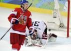 Foto: Latvija zaudē Čehijai papildlaikā