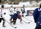 Svētdien AB dambī dīķu hokeja čempionāta fināli