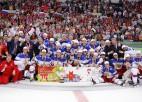 Krievijas izlase Vītoliņa vadībā triumfē pasaules čempionātā