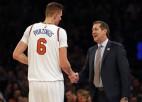 """Bijušais Porziņģa un """"Knicks"""" treneris Hornačeks atgriežas NBA"""