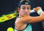 """Sevastovai """"Australian Open"""" sākumā gaidāma sarežģīta spēle"""