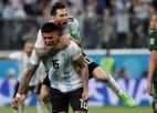 Vēls Roho vārtu guvums izglābj Argentīnu no fiasko