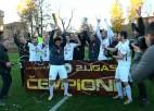 """Video: FC """"Betlanes"""" kļūst par 2.līgas čempioniem"""