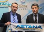 """Ašvorts kļūst par Grigorčuka priekšnieku """"Astana"""" komandā"""