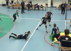 """Video: """"RTU/Robežsardze"""" uzvar pirmo setu, tomēr cieš zaudējumu pret Kēla """"Parnu"""""""