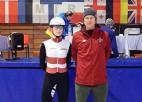 Šorttrekistei Jansonei 11. vieta Eiropas jaunatnes olimpiskā festivāla 1000 metros