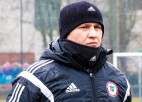 """Basovs: """"Viena no problēmām - mūsu U21 izlases spēlētājiem nav tik bagātas spēļu pieredzes"""""""