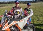 Brāļiem Reišuļiem augsti panākumi Nīderlandes motokrosa čempionātā