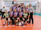 Latvijas jaunatnes čempionātā U-16 meitenēm uzvar RVS volejbolistes