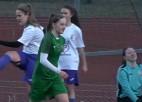 """Video: Sieviešu Futbola Līgas jaunā sezona sākas ar """"Metta"""" uzvaru pār """"Olaini"""""""