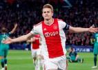 """""""Ajax"""" kapteinis de Lihts: """"Viens no piedāvājumiem ir labāks nekā pārējie"""""""