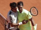 Nadals sesto reizi Parīzē uzvar Federeru un sasniedz 12. finālu