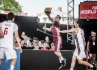 Latvijas 3x3 vīriešu izlase PK izcīņu sāk ar uzvaru un zaudējumu