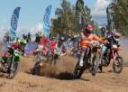 Macuks sakauj igauņus Latvijas motokrosa čempionāta posmā