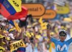 """""""Vuelta a Espana"""" otrajā posmā dominē kolumbieši, Rogličs reabilitējas"""