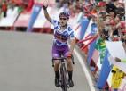 """Favorīti aktivizējas pārāk vēlu, """"Burgos"""" izcīna vēsturisku uzvaru """"Vuelta a Espana"""""""