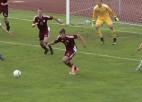 Video: Latvijas U19 izlase nenosargā divu vārtu pārsvaru un piekāpjas austriešiem