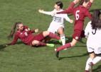Video: U19 meiteņu izlasei zaudējums pēdējā pārbaudes spēlē pirms EČ atlases turnīra