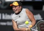 Ostapenko pārtrauktā mačā izstājas no Taškentas turnīra