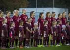 Latvijas izlase lietainajā Liepājā pirmoreiz neiesit un zaudē meistarīgajai Islandei