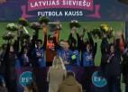 """Video: Rīgas FS trillera cienīgā Latvijas kausa finālspēlē izcīna uzvaru pār """"Dinamo Rīga"""""""
