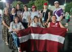 Paravieglatlēte Rorbaha pasaules čempionātā sasniedz personīgo rekordu un izcīna 9.vietu