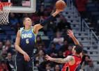 """Latvieši aiz okeāna: Porziņģim agrajā spēlē pretī stāsies """"Pelicans"""""""