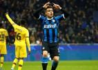 """""""Inter"""" nespēj pieveikt bez līderiem spēlējošo Barselonu un turpinās Eiropas līgā"""