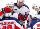 Kaprizovam 2+1, līdere CSKA Sočos iemet septiņus vārtus
