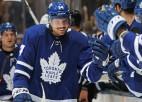"""""""Maple Leafs"""" paliek bez Torntona, bet Metjūzs nepabeidz treniņu, traumas arī citās komandās"""