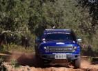 """Latvijas pārstāvis Kjusi un """"RE Autoklubs"""" komanda lieliski uzsāk """"Africa Eco Race"""" rallijreidu"""