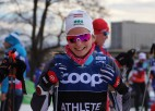 Eiduka distanču slēpošanā pirmā no Latvijas iekļuvusi pasaules ranga simtniekā