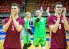 Ar neizšķirtu pret Dāniju Latvija izcīna pirmo vietu apakšgrupā