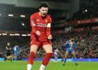''Liverpool'' visu laiku jaunākais pamatsastāvs ieved komandu FA kausa 1/8 finālā