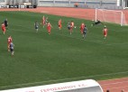 "Video: ""Riga FC"" pārspēj ""Mordovia Saransk"" komandu"