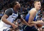 """Porziņģis agrajā spēlē viesos tiksies ar """"Timberwolves"""""""