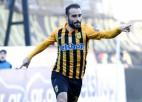 """Grieķijā futbola Superlīga atsākas ar """"Aris"""" uzvaru"""