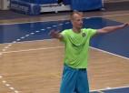 """Video: """"Jēkabpils Lūši/Ošukalns"""" izšķirošajā sērijas mačā pārspēj """"Lokomotiv"""" un izcīna Virslīgas bronzu"""