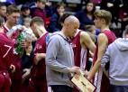 """Gailiša tālmetiens izrauj U16 izlasei uzvaru pār Lietuvas """"balto"""" komandu"""