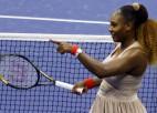 """Viljamsas ceļā uz otro nedēļu cita """"US Open"""" čempione Stīvensa"""