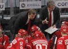 """Znaroka un Vītoliņa """"Spartak"""" turpina uzvarēt, Bukarta """"Severstal"""" gavilē Minskā"""