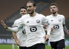 """Cigaņikam pirmā pilnā spēle Eiropas līgā, turka Jaziči """"hat-trick"""" šokē Milānu"""
