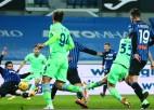 """""""Atalanta"""" aizraujošā mačā pārspēj """"Lazio"""", Itālijas kausa pusfinālā iekļūst arī """"Juventus"""""""