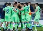 """""""Lazio"""" revanšējas """"Atalanta"""" par zaudējumu Itālijas kausa ceturtdaļfinālā"""