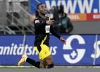 """Volfsburgai piektā sausā uzvara pēc kārtas, zaudē abas """"Borussia"""" komandas"""
