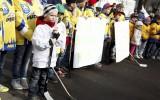 Foto: Hokeja cilvēki protestē pret elektroenerģijas tarifiem