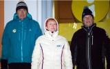Foto: Siguldā atklāj junioru pasaules čempionātu kamaniņu sportā