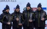 Foto: Melbārža četrinieks triumfē PK posmā Īglsā