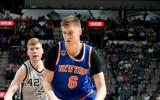 Foto: Bertāns un Porziņģis otro reizi tiekas NBA spēlē