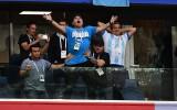 Foto: Maradona - viens no kolorītākajiem Argentīnas faniem